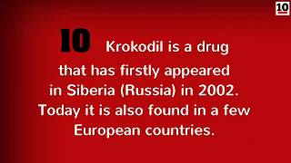 10 Facts About The Drug Krokodil