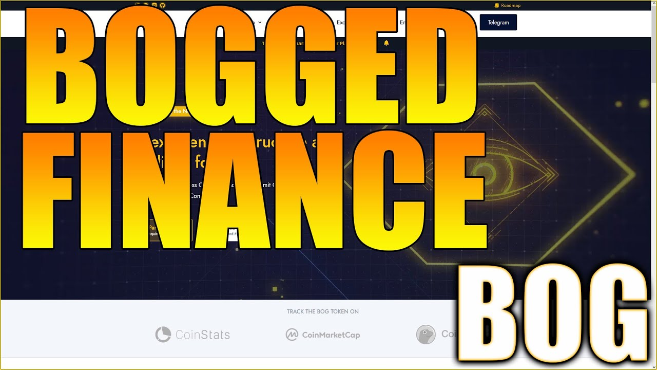 Bogged.Finance Tools - Crypto Limitation Orders & More! Bogged Financing Evaluation - BOG Coin Rate Update thumbnail