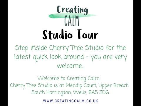 Creating Calm Studio Tour