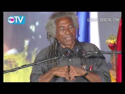 Poeta Caribeño Carlos Rigby fue merecedor de la mayor distinción cultural del país