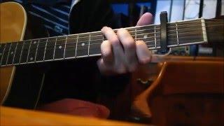 Pancho - Los Tres - Cover guitarra