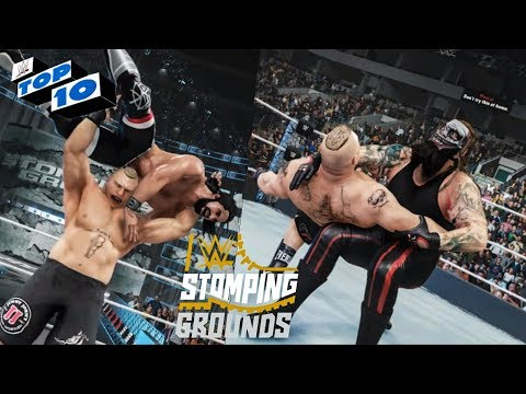 WWE 2K19 Stomping Grounds 2019 Top 10 Predictions!
