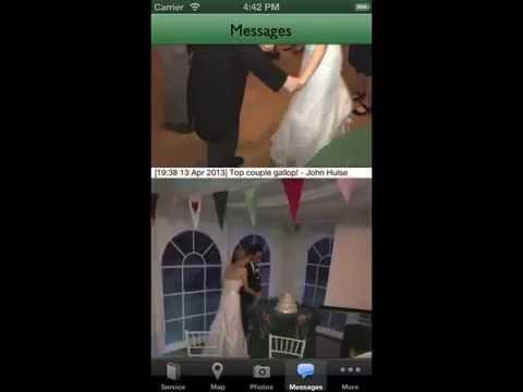 wedding guest app