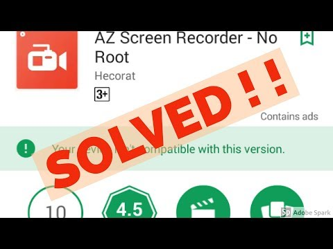 Fix Your Device Isn't Compatible With This Version In Android||Google Play Store Mp3