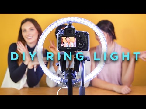 DIY RING LIGHT FT. SHAMELESS MAYA