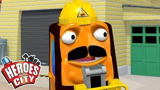 Heroes of the City - Robbies Upgrade | Cartoons For Kids | Vehicles For Kids | Car Cartoons