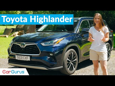 Toyota Highlander 2021 Review: UK's latest 7-Seat SUV   CarGurus UK