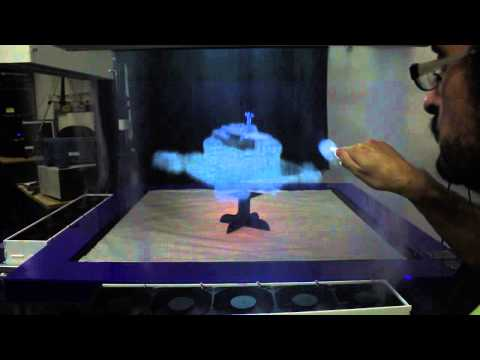 Wild New Display Uses Fog As An Interactive 3D Screen