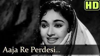 Aaja Re Pardesi Main (HD) - Madhumati Songs - Dilip Kumar