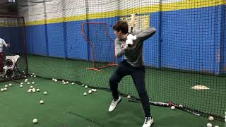 2019-2020 Off-Season Hitting Lesson Highlights | LairdsTraining.com
