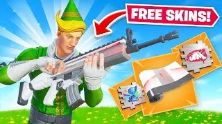 How To Get *FREE* Exclusive Fortnite Wraps & Sprays!