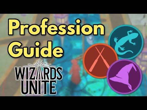 Wizards Unite Profession Guide
