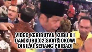 Beredar Video Keributan Kubu 01 dan 02 di Kursi Penonton Debat saat Jokowi Dinilai Serang Pribadi