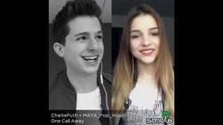 One Call Away   Charlie Puth & MAYA Pop| Sing! Karaoke By Smule