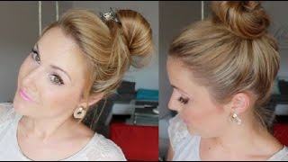 Wie Dutt Ohne Duttkissen Machen Haare Frisur