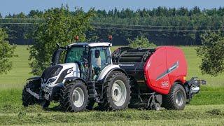KVERNELAND FastBale - nonstop round baler - Valtra & Case tractors
