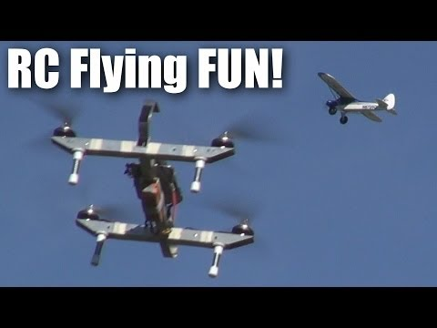 fun-with-rc-planes-on-a-beautiful-sunday