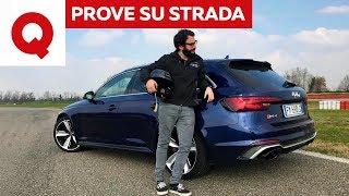 Nuova Audi RS4: è davvero così veloce? La prova definitiva   Quattroruote