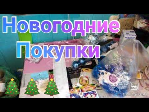 Огромная закупка на месяц в Ашане / Новогодние покупки в Ашане