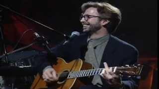 Eric Clapton - Layla [Live Unplugged] Lyrics On Screen