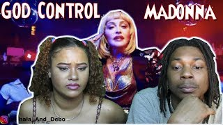 MADONNA GOD CONTROL OFFICIAL VIDEO REACTION