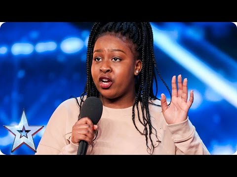 You're going to love Sarah Ikumu as much as Simon! | Auditions Week 1 | Britain's Got Talent 2017 (видео)