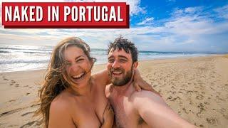 First Time Nudist Beach Adventure   Portugal Travel Series Part 2