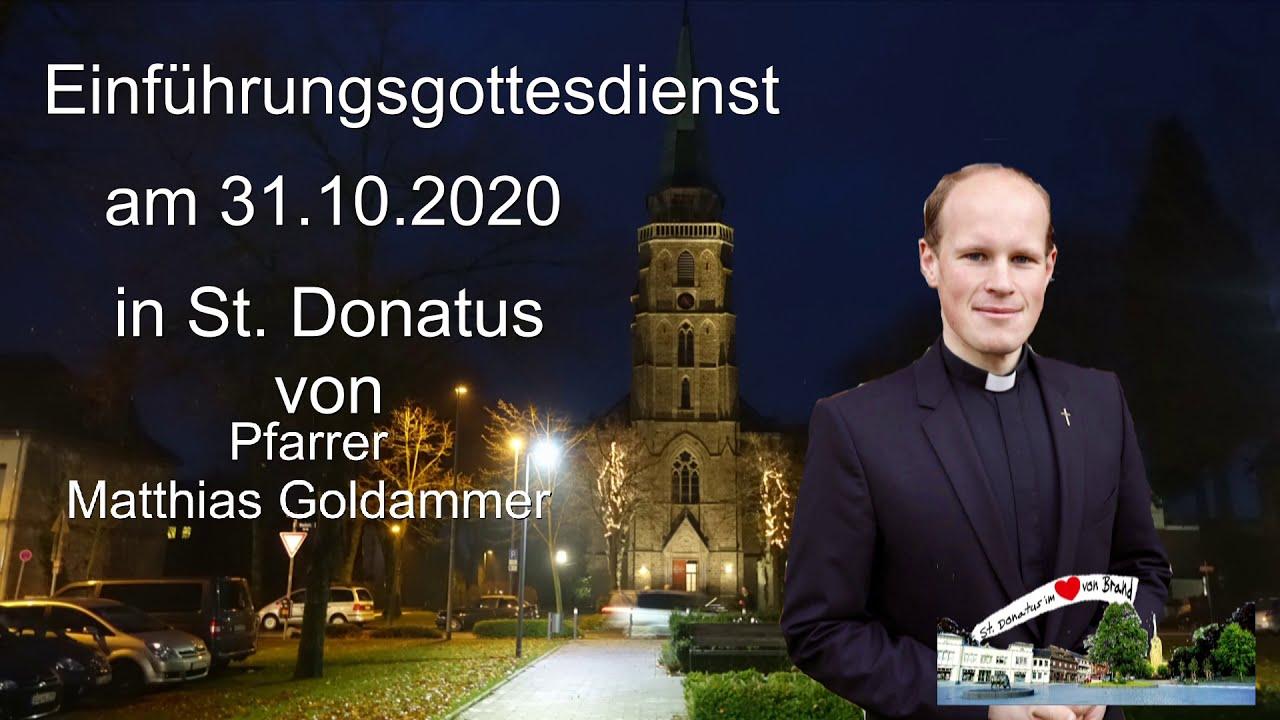 Einführungsmesse Pfarrer Goldammer