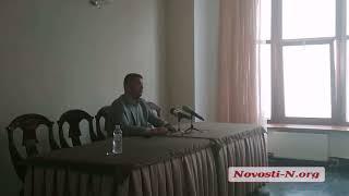 """Видео """"Новости-N"""": Нериус Шараускас о компании  «Місто для людей» в Николаеве"""