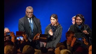 Nobel peace prize shines light on rape in conflict - VIDEO