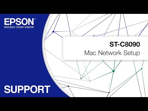 Mac Network Setup