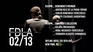 Fashion Designers of Latin America NYFW Schedule