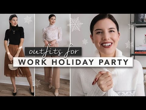 What to Wear to a Company Holiday Party | by Erin Elizabeth