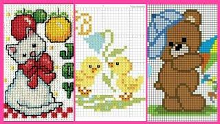Lattest Cross Stitch Pattern Designs.