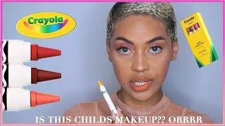 CRAYOLA MAKEUP These Products Are A Joke.