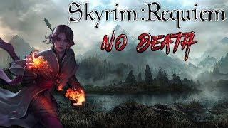 Skyrim - Requiem (без смертей, макс сложность) Данмер-Волшебница #1 Уроки цыганства
