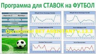 Opredelitel BET ASSISTANT v.13.3 Программа для ставок на спорт