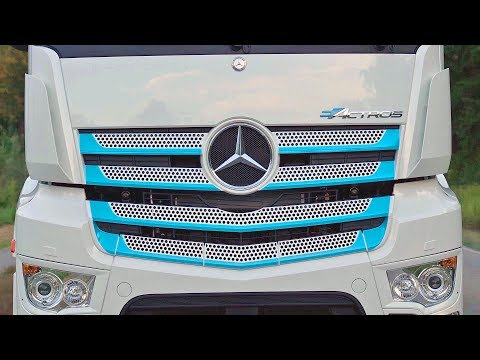 Mercedes EActros 2019 ⚡ FULLY ELECTRIC TRUCK