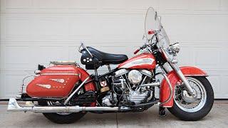 Original 1956 Harley FLH Panhead - One Owner