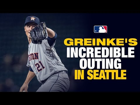 Astros' Zack Greinke was THIS CLOSE to a no-hitter (8 1/3rd innings)