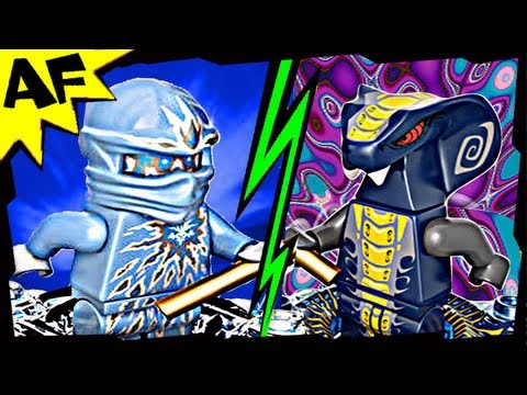 Vidéo LEGO Ninjago 9590 : NRG Zane