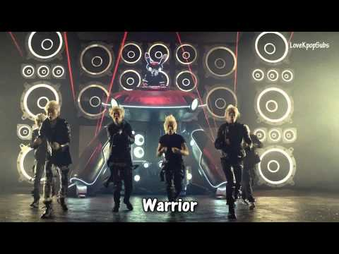 Download B.A.P - Warrior MV [English subs + Romanization + Hangul] HD HD Video