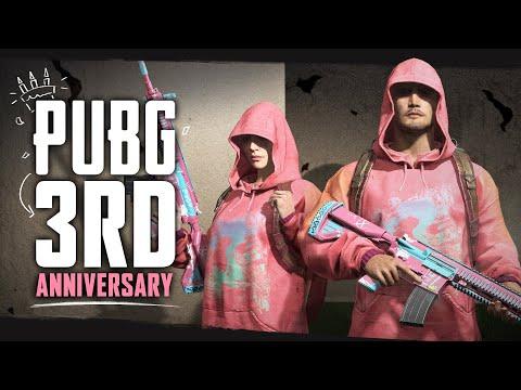 PUBG 3週年免費送造型