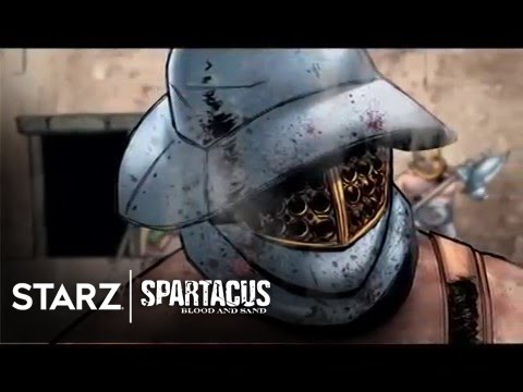 Spartacus: Blood and Sand | Motion Comic Trailer #1 | STARZ