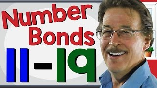 Number Bonds 11-19 | Math Song For Kids | Jack Hartmann