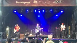 "54-40 ""Crossing a Canyon"" Live Canada Day 2015-07-01 Burnaby BC"
