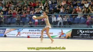 preview picture of video 'Grand-Prix Holon 2013 - 01 - Margarita Mamun - Ball'