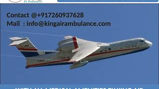 Hire King Air Ambulance Service in Allahabad and Varanasi at Low Cost