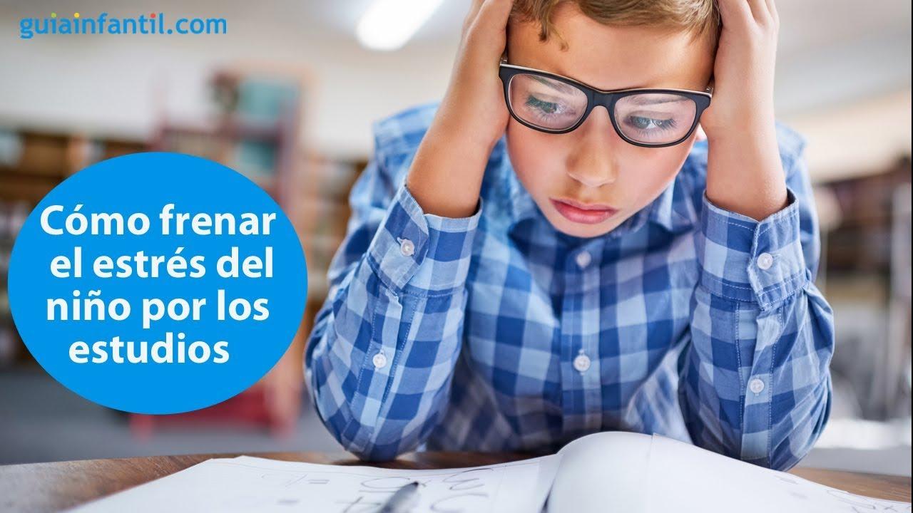 Como frenar el estrés de los niños por los estudios | #ConectaConTuHijo
