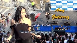 Covers HA*ASH -- AMY GUTIERREZ en Plaza Norte.